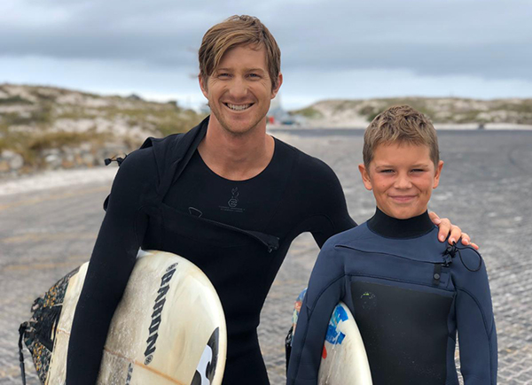 Learn to surf with Matt Bromley
