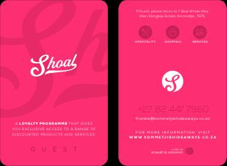 Kommetjie Hideaways | Shoal | Kommetjie Hideaways Guest Card
